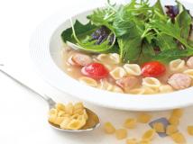 ミニパスタ入りフレッシュスープ|Hatake company